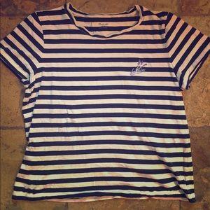 EUC Madewell Embriidered Shirt